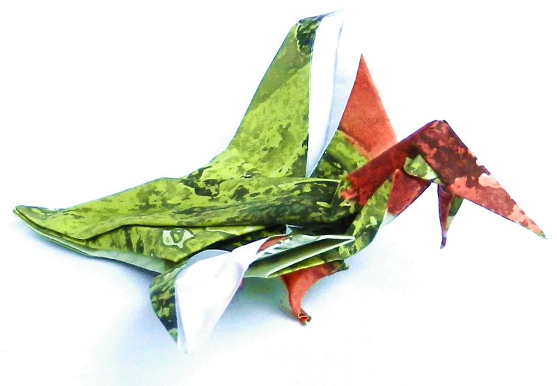 Origami Archaeopterix