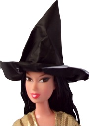 Origami witch hat