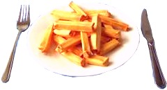 origami french fries clipart picture