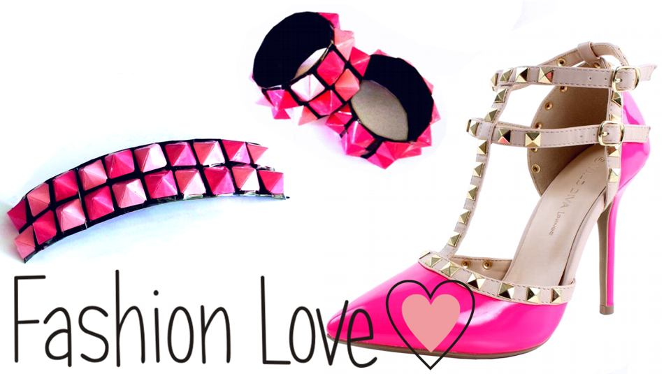 Studded fashion accessories