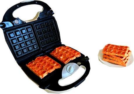 origami waffles clip art picture