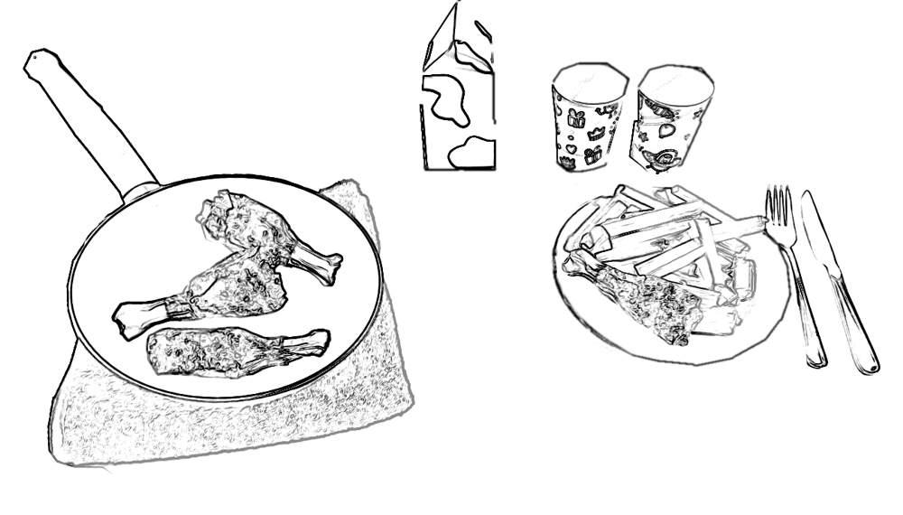 Huis Anubis Kleurplaten Printen.Kleurplaat Frietjes Pin Stuur Je Ingekleurde Tekening Gerust Naar