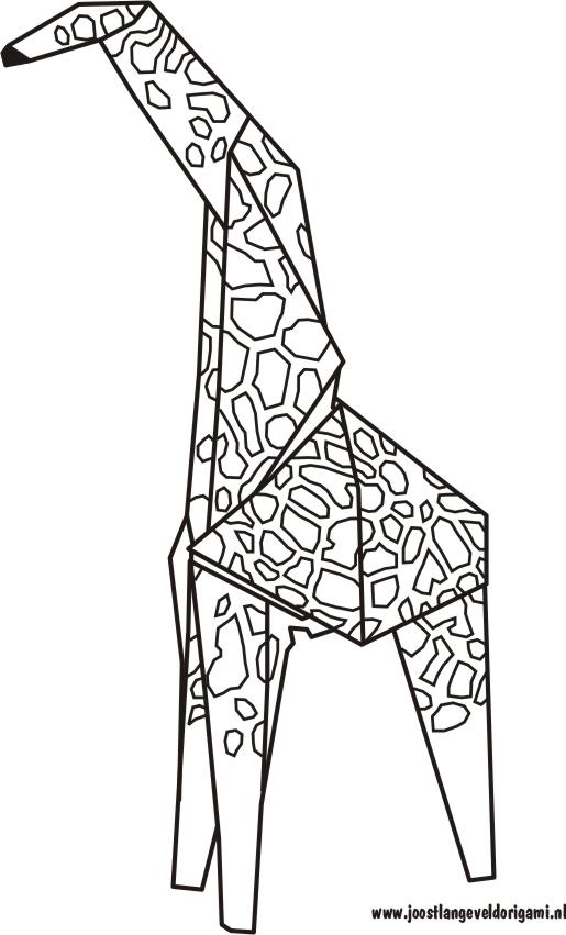 origami giraffe diagrams  u00ab embroidery  u0026 origami