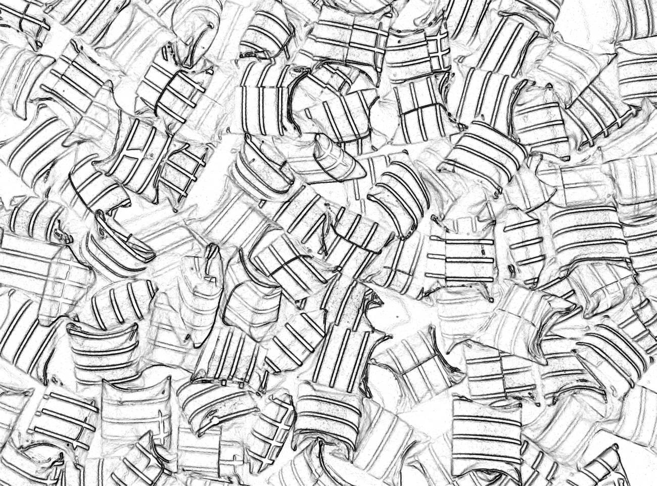 kleurplaat harde snoepjes