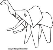 colouring picture of a funny looking elephant