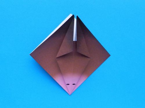 Simple Origami Bat – Be A Fun Mum | 372x500