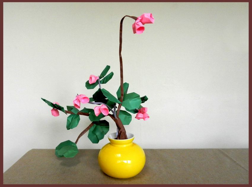 Bonsai Origami Bell Flowers