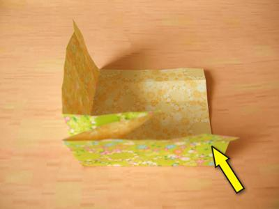 diagrams for an origami box