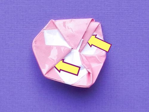 Make Origami candies