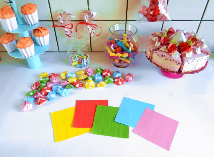 Origami paper workshop
