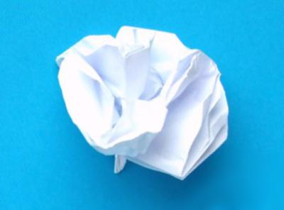 Joost langeveld origami page white origami carnation flower mightylinksfo