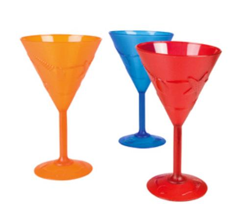Plastic Cocktail Glasses