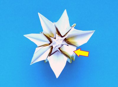 origami daffodil folding instructions