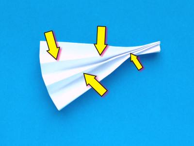 how to make an origami veil