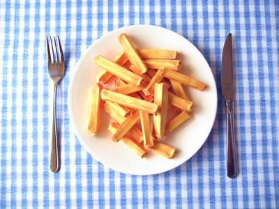 origami french fries