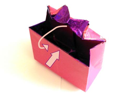 Origami Gift Bag With Bow Tutorial