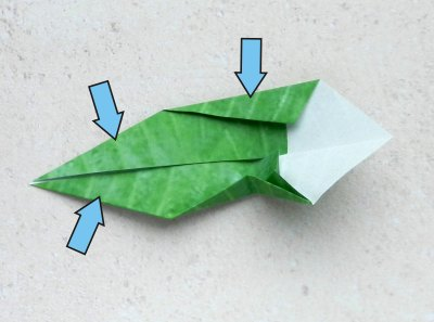 origami holly leaf folding instructions