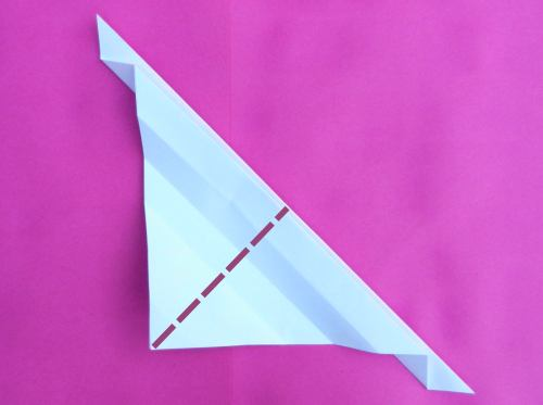 Fold an Origami letter K