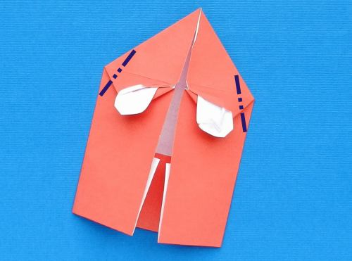 Make Origami Pacman Ghosts