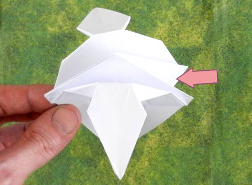 How to fold an Origami Pegasus