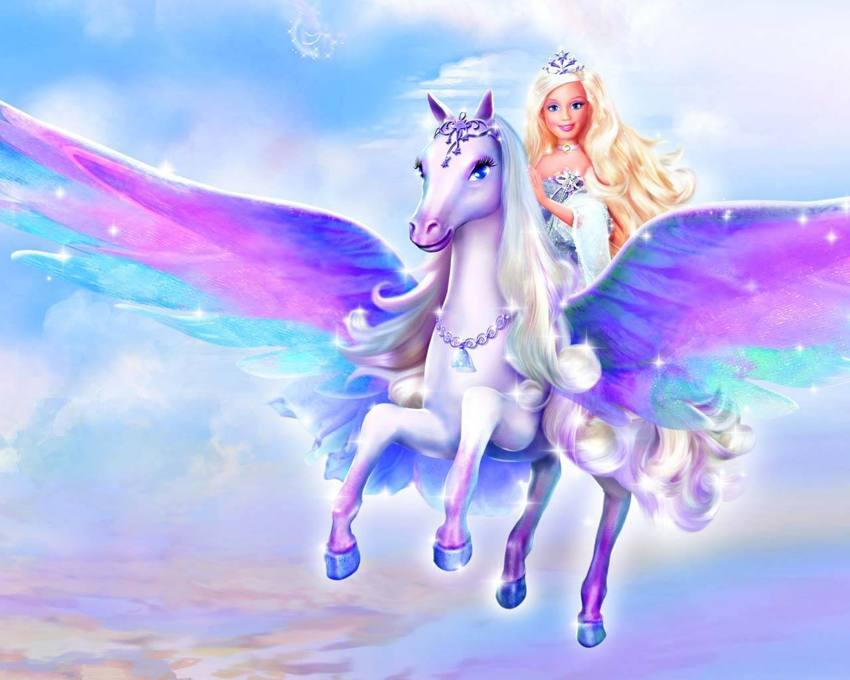 Barbie Princess on a Pegasus