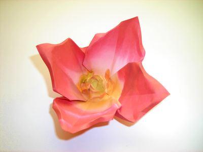 Joost langeveld origami page red origami flower mightylinksfo