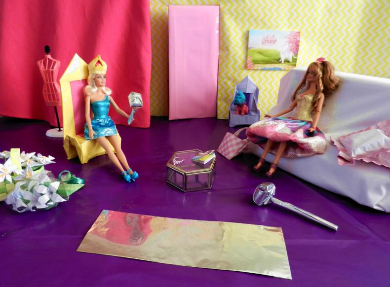 Barbie knutselworkshop