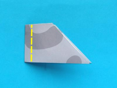 how to fold a paper plane, model stealth plane