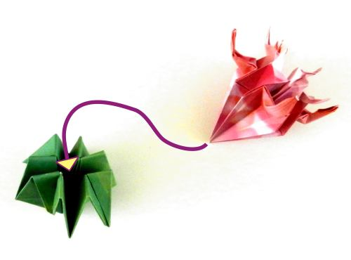 Make an Origami Thistle