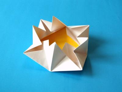 origami water lily