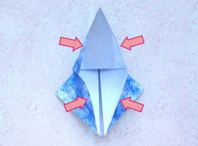 diagrams for folding an origami whale
