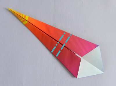 origami windvane folding instructions