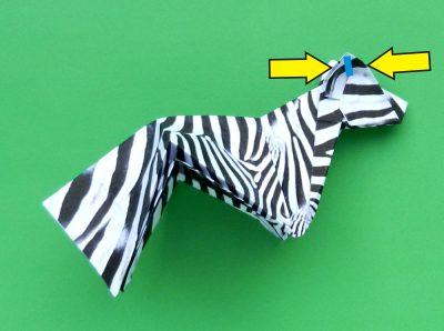 Origami Zebra Folding Instructions