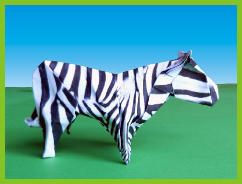 advanced origami zebra