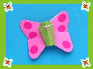 kawaii origami butterfly picture
