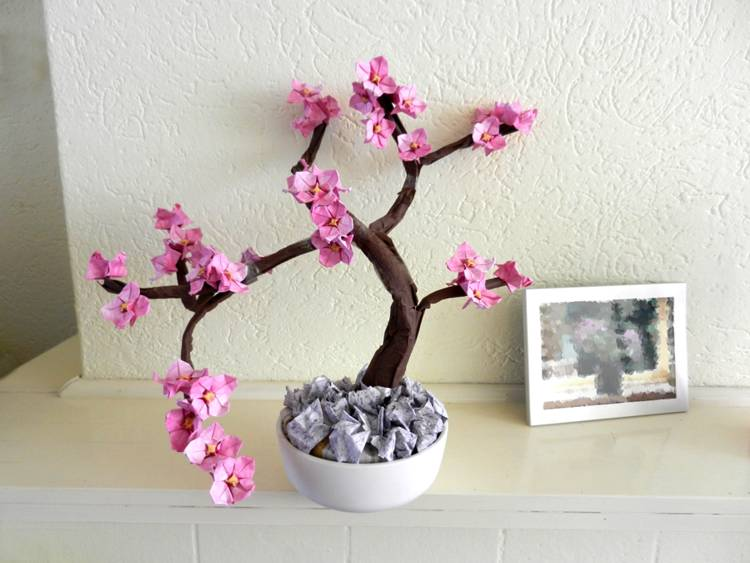 Bonsai Origami Dogwood