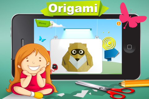Cartoon Origami App