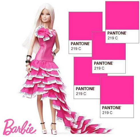 Barbie Pink in Pantone