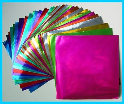 origami foil papers