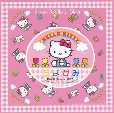 cute hello kitty origami paper