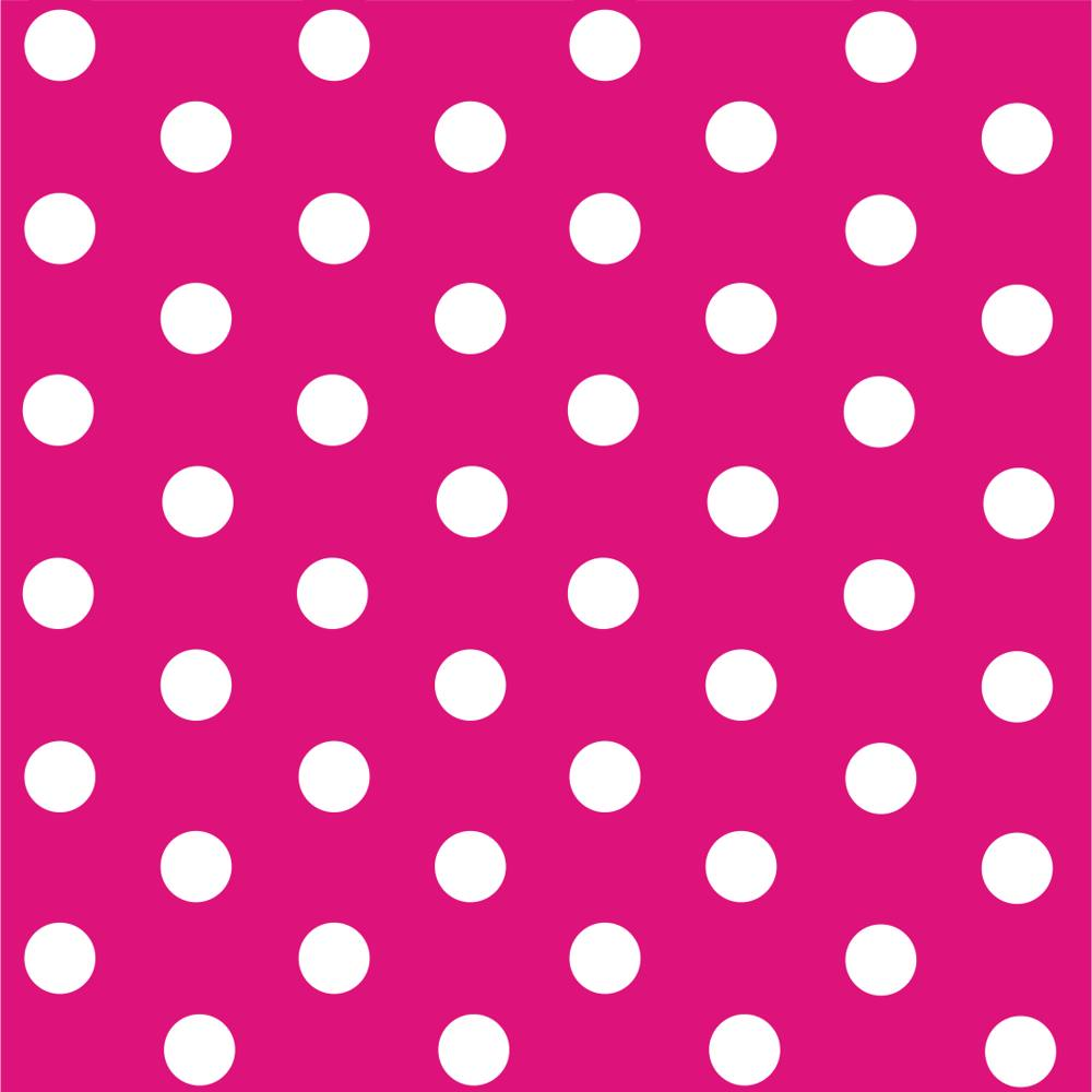 Origami paper for folding a polka dot pencil box