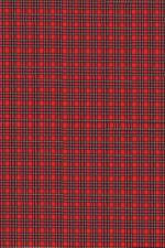red plaid texture