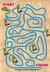 printable maze with a speedboat, from start to finish