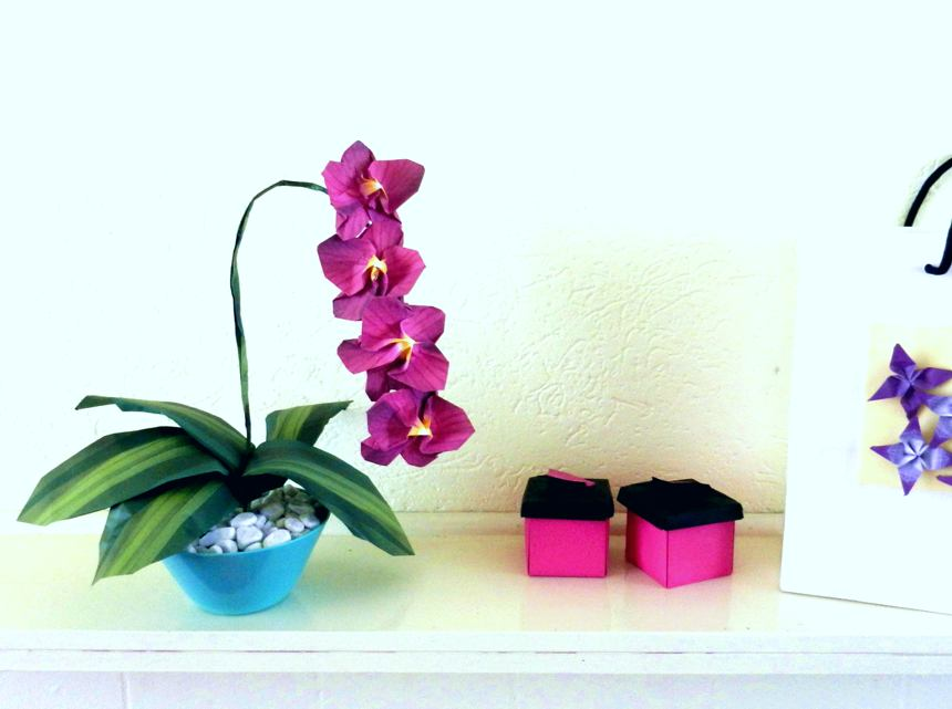 Origami Orchidee